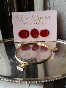 Love Story bangle-Bracelet-Seal & Scribe