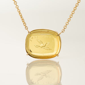 Only to You-Necklace-Seal & Scribe