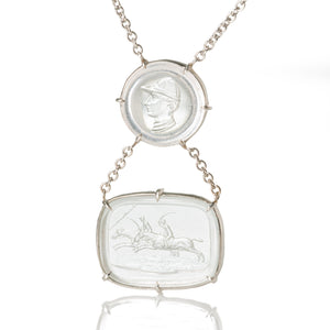 Racing Day-Necklace-Seal & Scribe