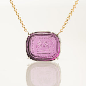 Separated by Fate, United by Desire-Necklace-Seal & Scribe