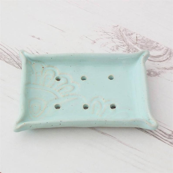 Pinched Pottery Soap Dish