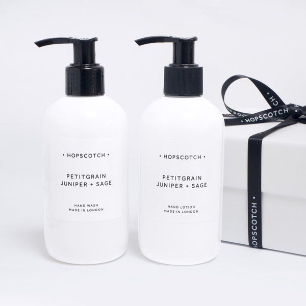 Petitgrain, Juniper and Sage Hand Care Duo