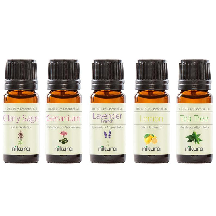5 x 10ml Essential Oils - Multipack