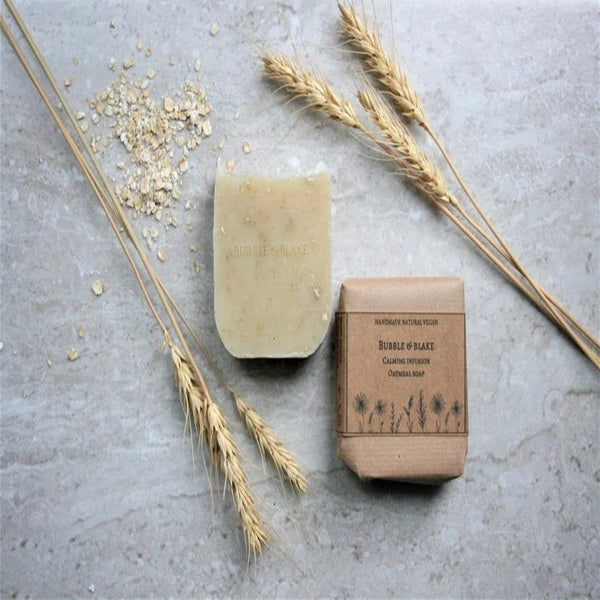 Oatmeal Soap - Certified Natural Vegan Handmade Soap - Cold Process