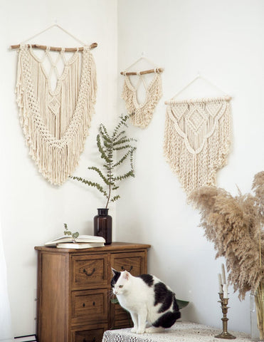Large Wall Hanger Macrame