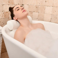 Deep Soak Neck Support Bath Pillow