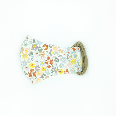Japanese FlowersFace Mask/ Kids & Adult