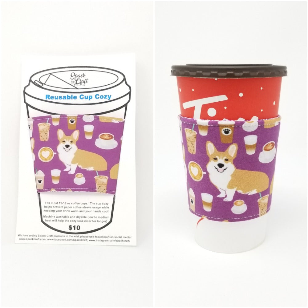 New Product - Reusable Cup Cozies