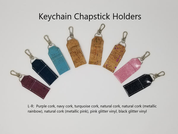 Keychain Chapstick Holders - group photo
