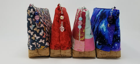 Group shot of 4 essential oil bags by Spack Craft