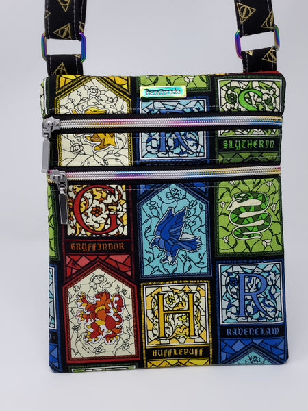 Zip and Go Purse - Harry Potter Stained Glass