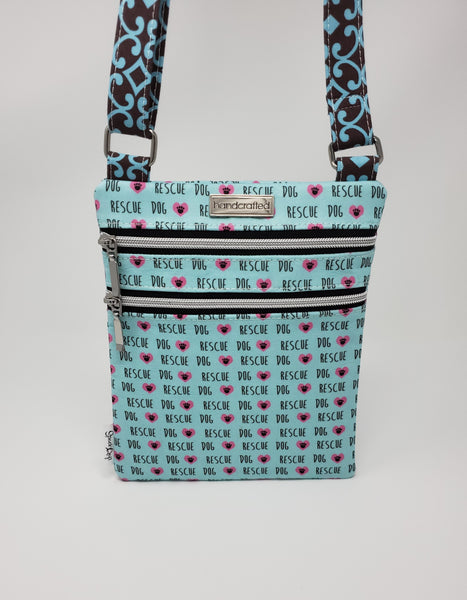 Zip and Go Purse - Rescue Dogs