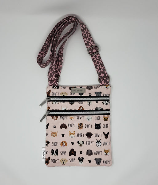 Zip and Go Purse - Adopt Don't Shop