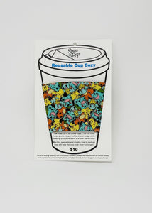 Reusable cup cozy - Pokemon - in packaging