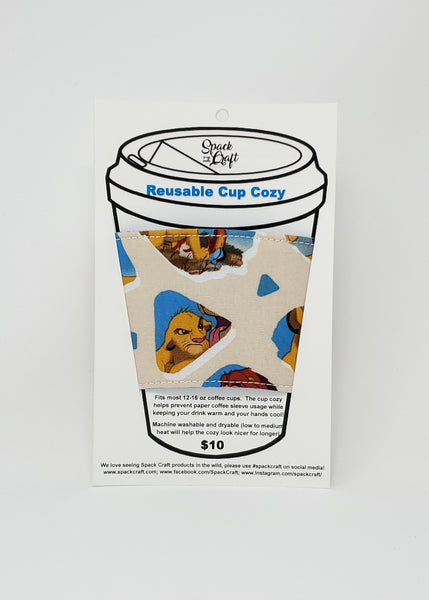 Reusable cup cozy - Lion King -  in package