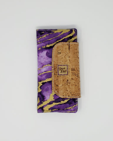 Slimline Wallet - Purple Reef