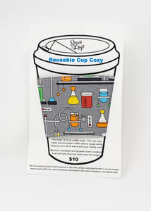 Reusable cup cozy - Science Experiments - in packaging