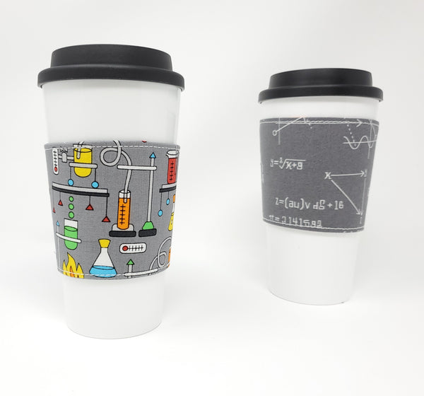 Reusable cup cozy - Science Experiments - Pictured on a cup