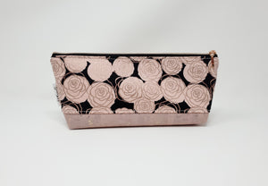 Essential Oil Bag - Rose Gold Roses