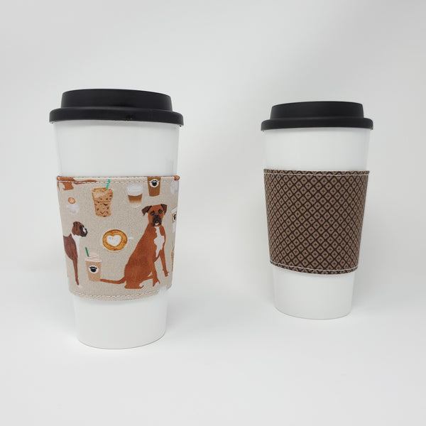 Reusable Cup Cozy - Coffee and Boxers