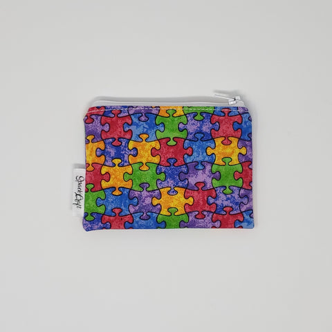 Change Purse - Puzzle Pieces