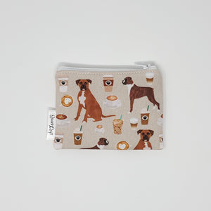 Change Purse - Coffee and Boxers