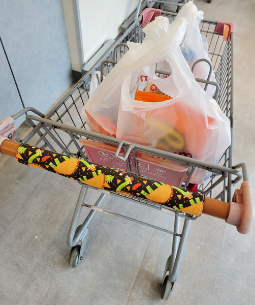 Shopping Cart Handle Cover - Spring Dachshunds - Small