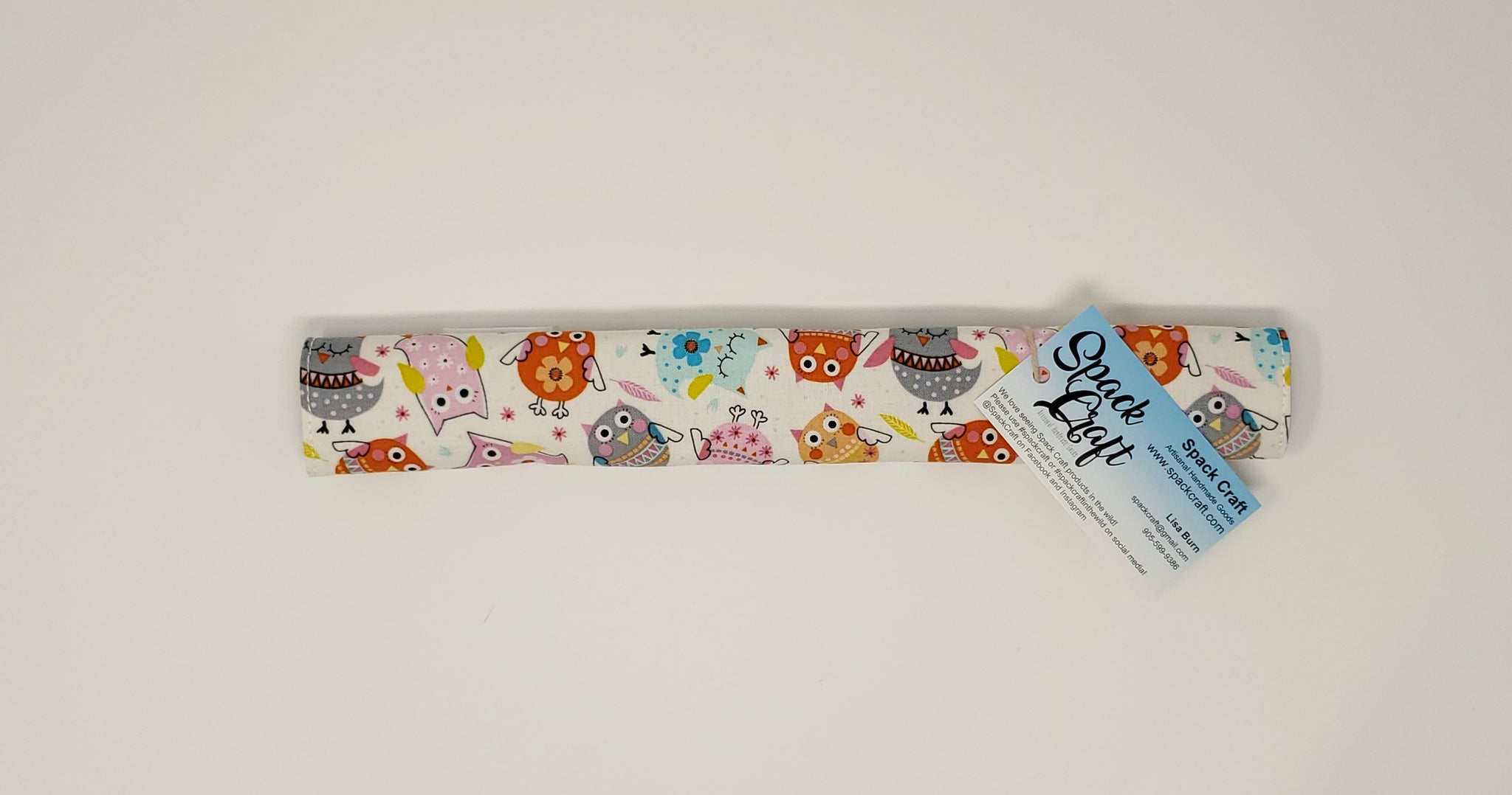Shopping Cart Handle Cover - Owls - Small