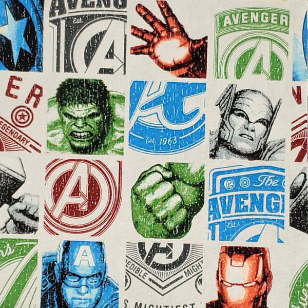 Cotton Mask - Avengers