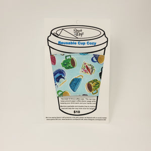 Reusable Cup Cozy - Deja Brew