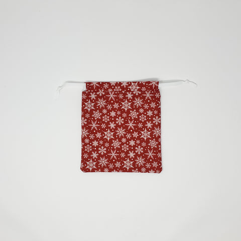 Reusable Gift Bag - Snowflakes - Small