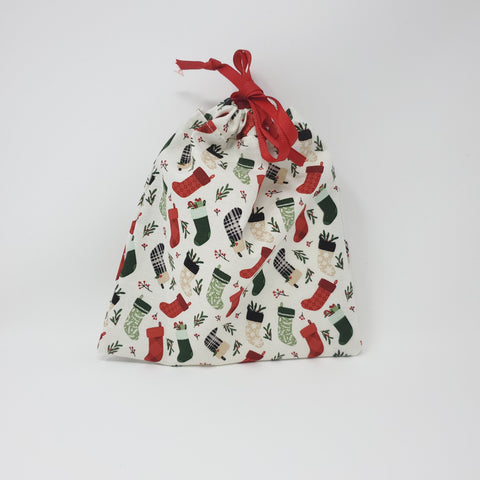 Reusable Gift Bag - Stockings - Small