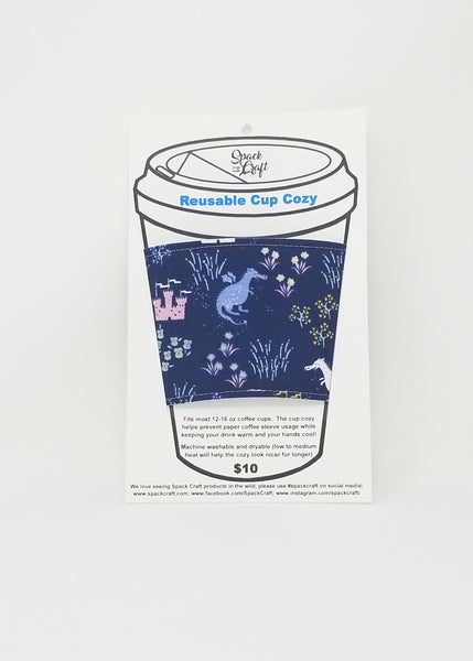 Reusable cup cozy - in packaging - Avalon