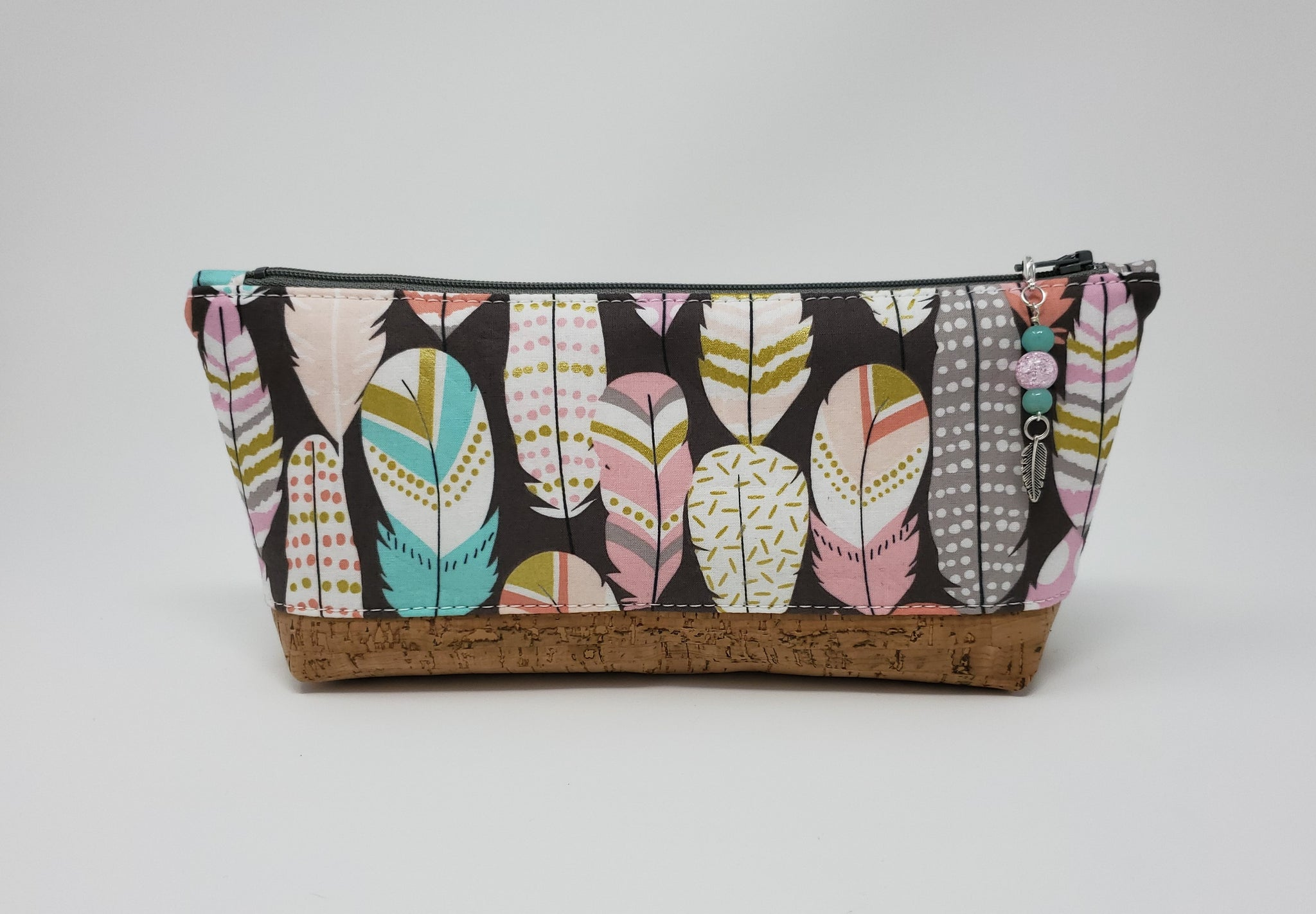 Essential Oil Bag - Feathers - Exterior