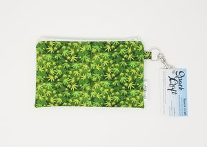 Snack Bag - Cannabis leaves