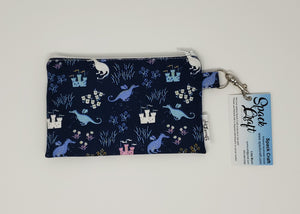 Snack/Cosmetic Bag - Dragons and Castles