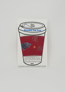 Reusable cup cozy in packaging - Game of Thrones
