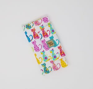 Slimline Wallet - Calico Cats