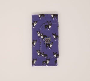 Slimline Wallet - Boston Terriers