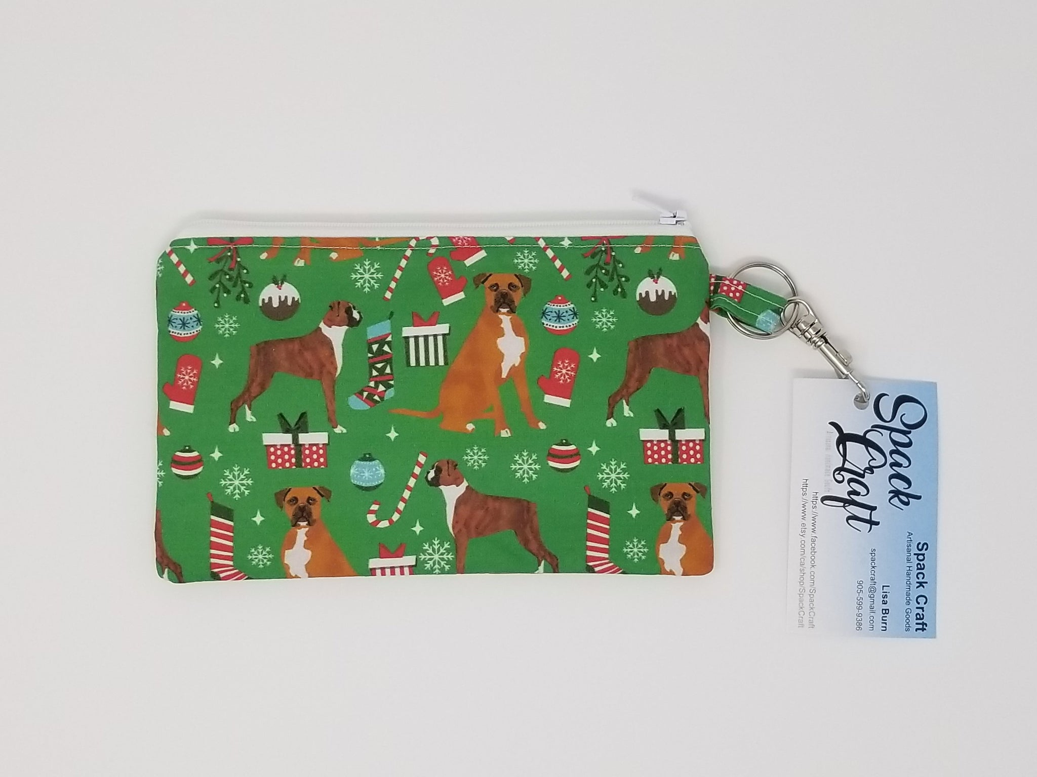 Snack/Cosmetic Bag - Christmas Boxers
