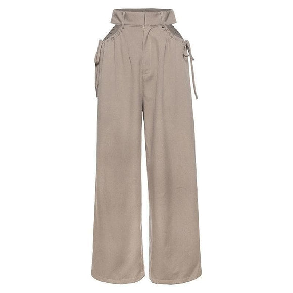 High waisted hollow out pant