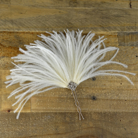 Feather Spray Hair Pin