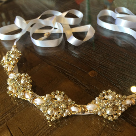 Serena Headpiece Gold