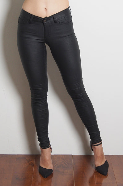 Hustler Coated Stretch Jeans