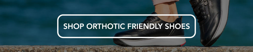 Orthotic Friendly Shoes
