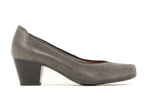 Caprice Sarah Dark Grey Reptile Sale ShoeMed