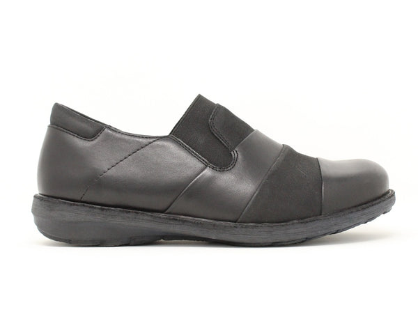 Ziera Sienna Black Nubuck Sale ShoeMed