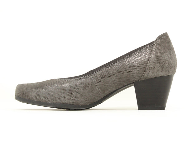 Caprice 22301 Dark Grey Reptile Sale ShoeMed