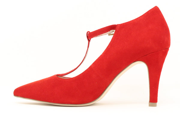 Caprice 24400 524 Red Suede ShoeMed