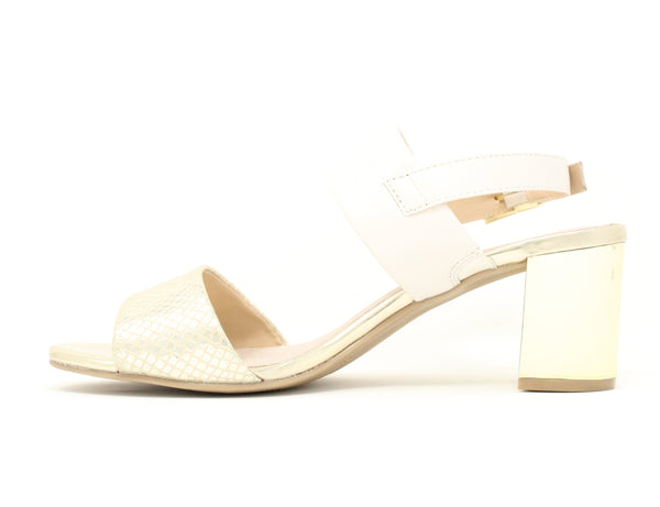 Caprice 28302 921 Gold Off White Sale ShoeMed